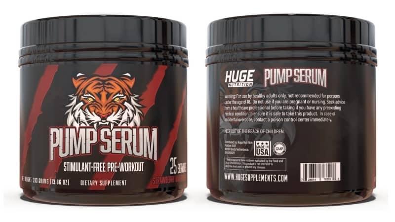 Pump Serum Flavor Options