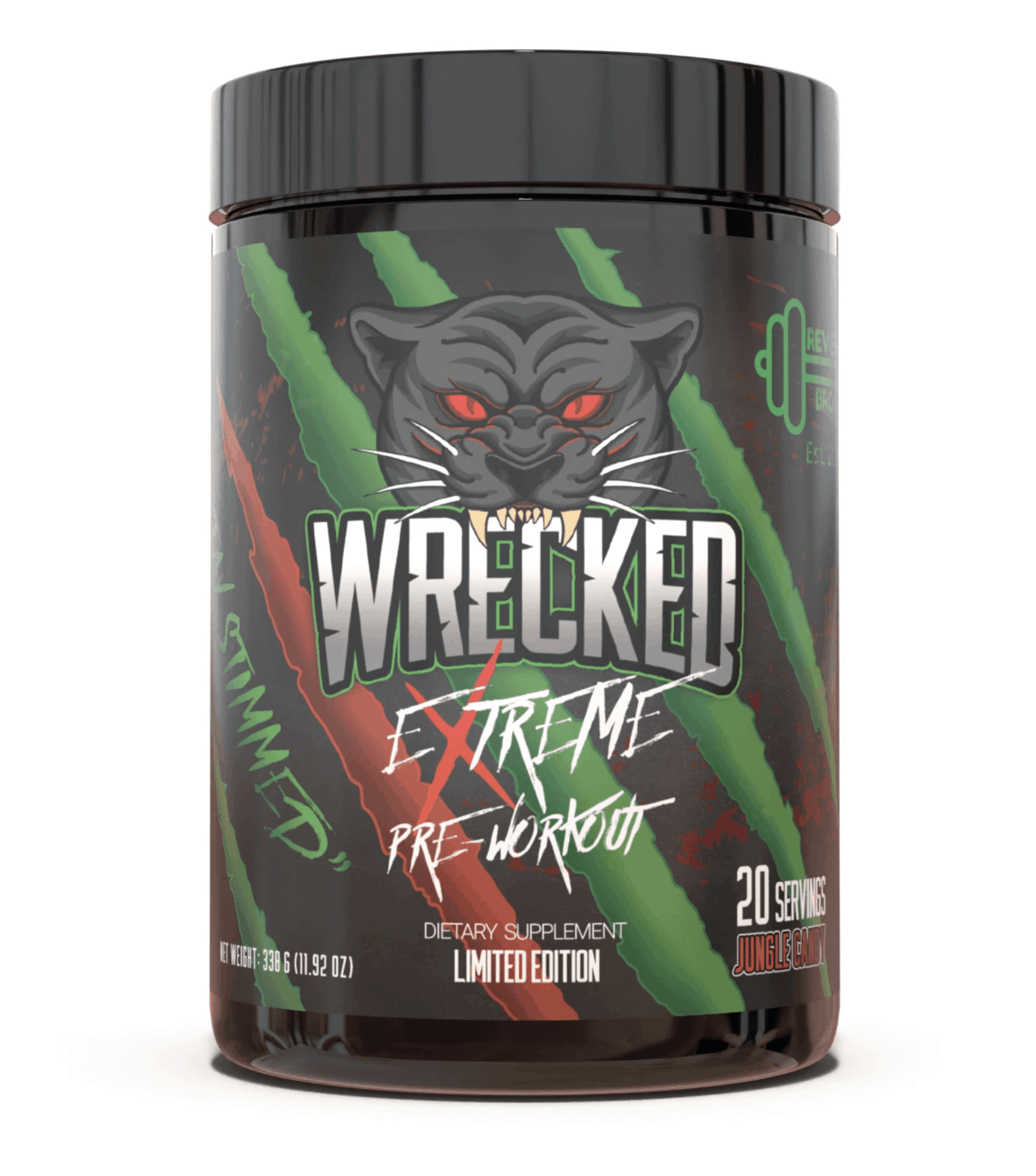 Huge Nutrition Wrecked Extreme Limited Edition