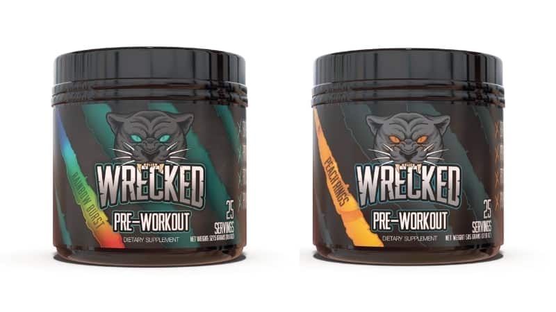 Wrecked Pre-Workout Flavors