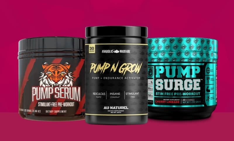 The Best Stimulant-Free Pre-Workout Supplements