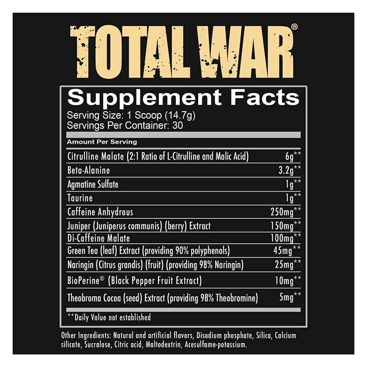 Total War Ingredients