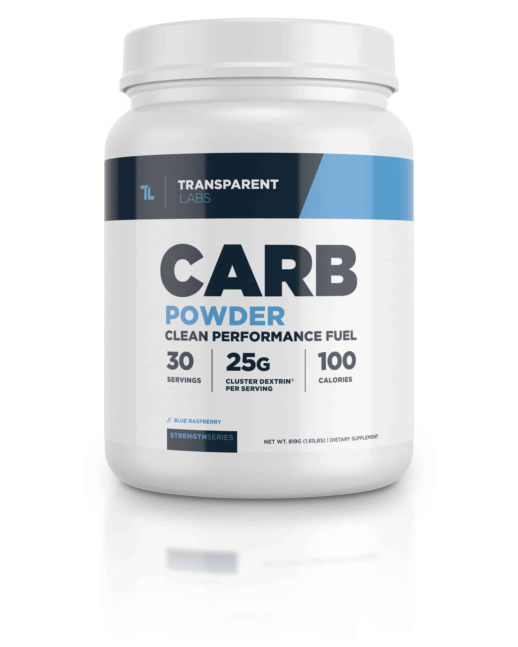 Transparent Labs Carb Powder with Cluster Dextrin (30 Servings)