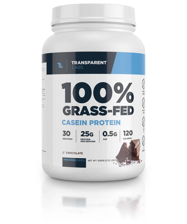 Transparent Labs 100% Grass-Fed Casein Protein