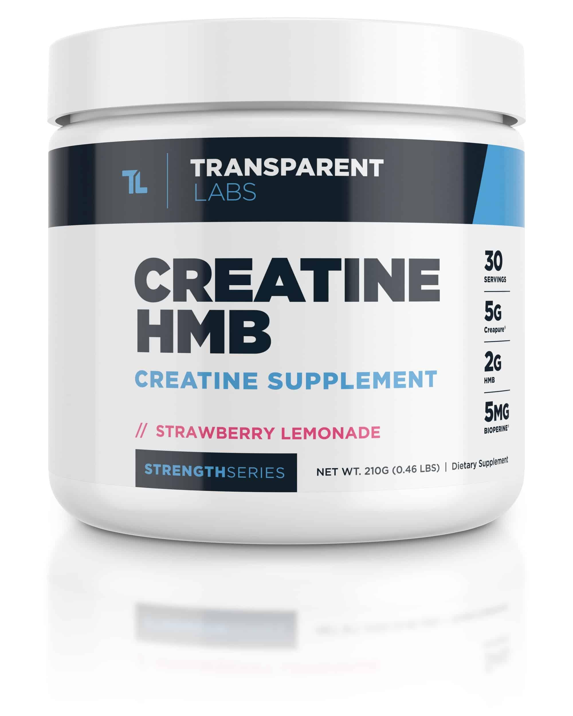 Transparent Labs Creatine HMB (with Creapure®)