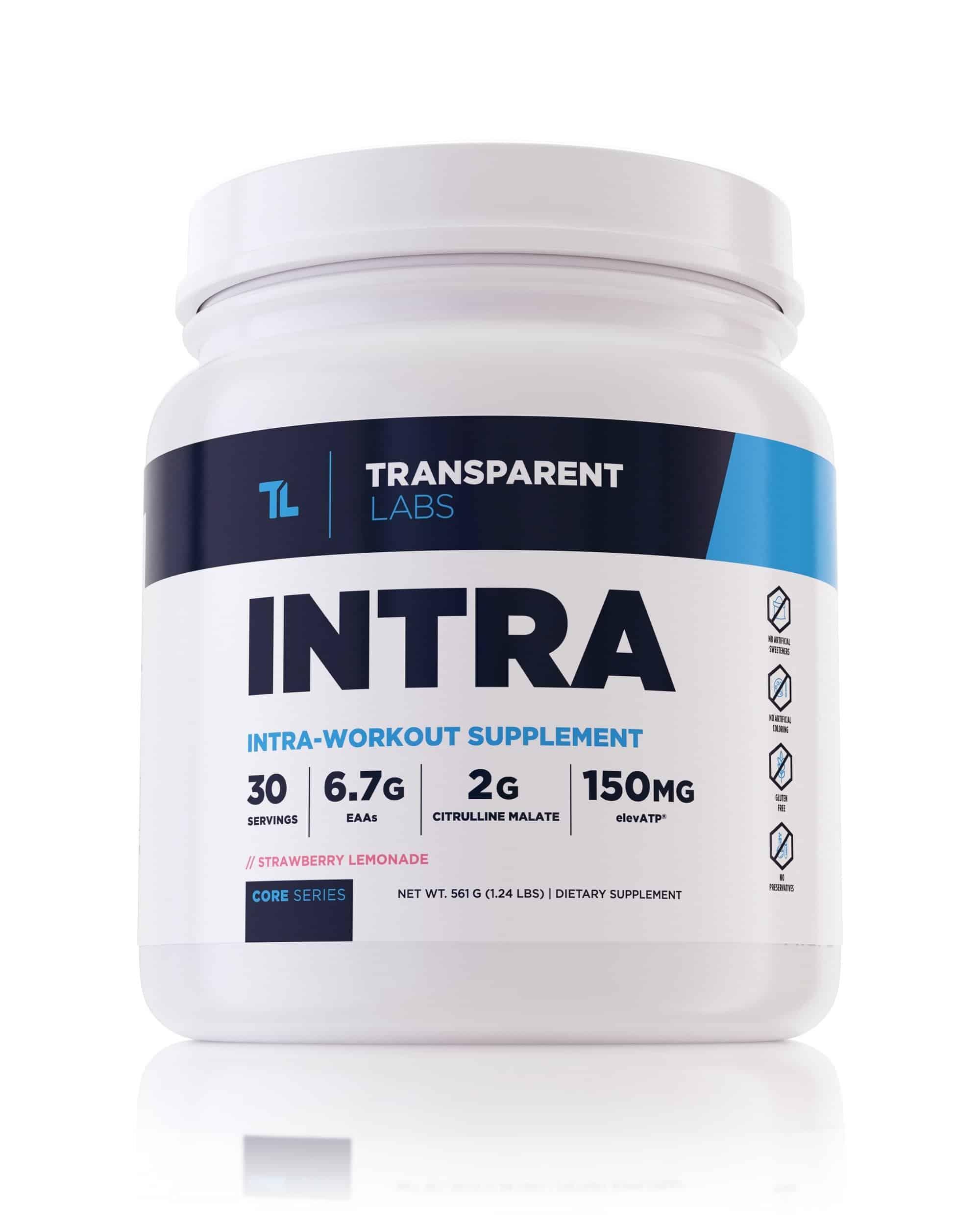 Transparent Labs INTRA Essential Amino Acids (30 Servings)