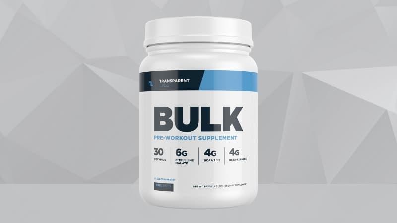 Transparent Labs Bulk Pre-Workout Review