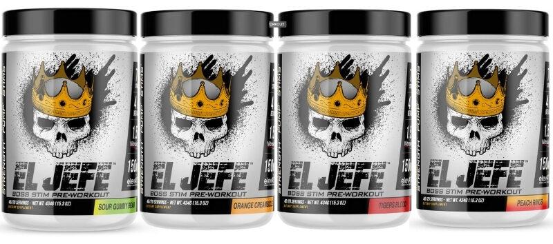 ASC Supplements El Jefe Flavor Options