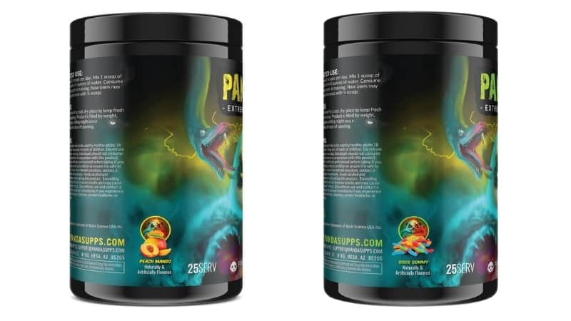 Panda Supps PANDAMIC Flavor Options