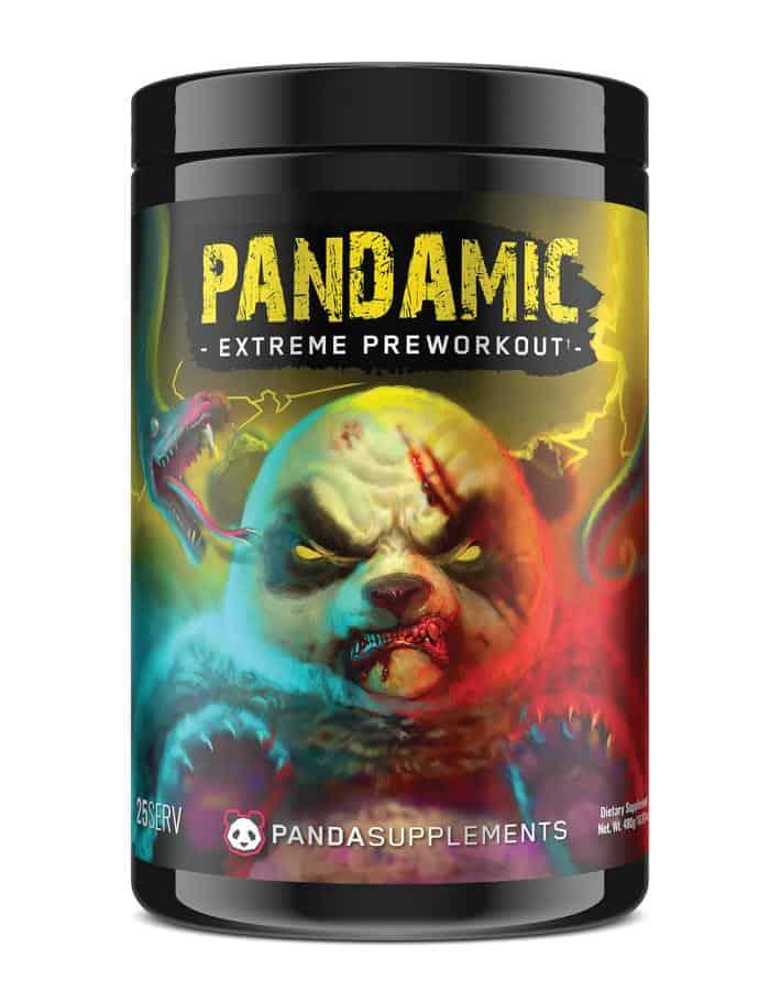 Panda Supps PANDAMIC Extreme Pre-Workout