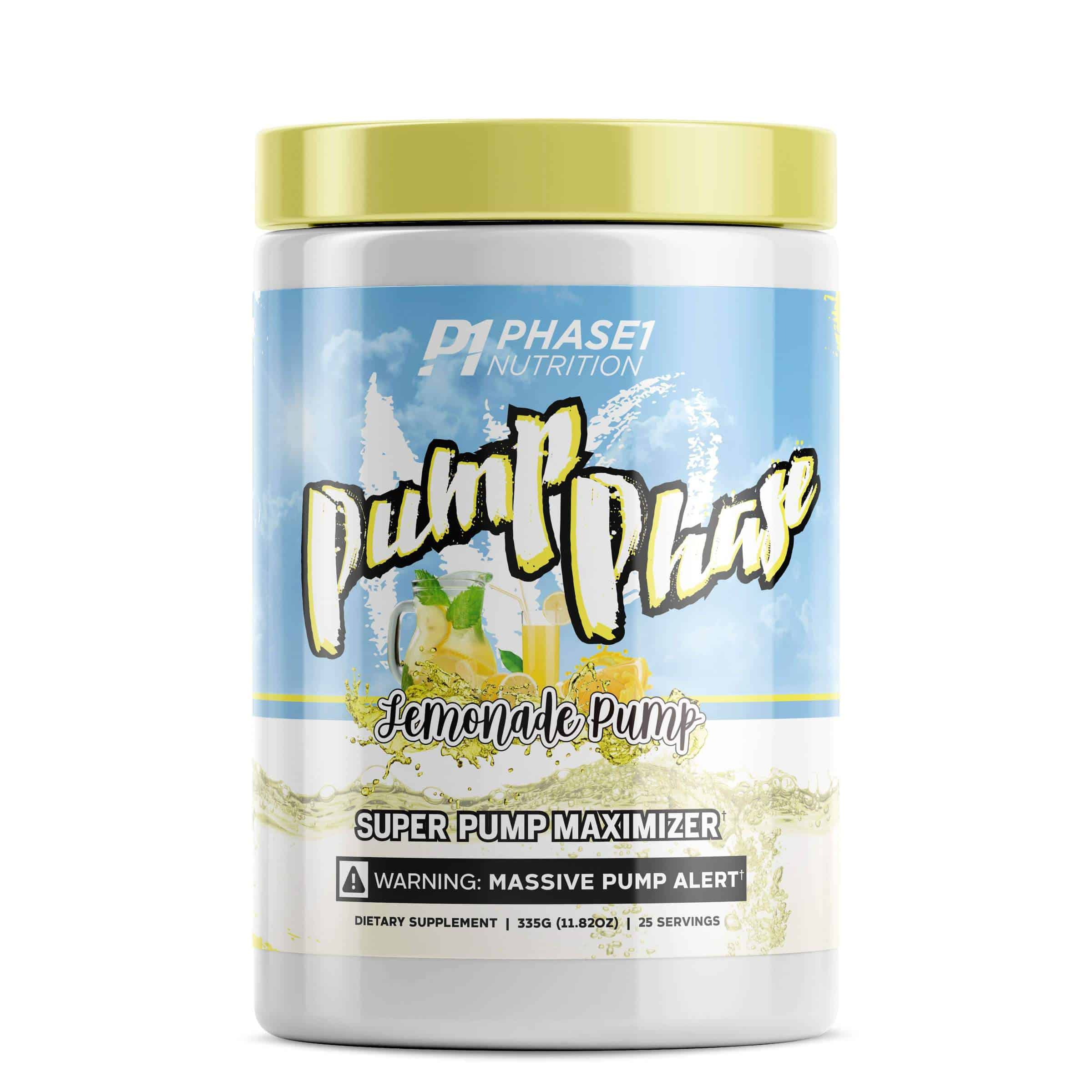 Phase 1 Nutrition Pump Phase (25 Servings)