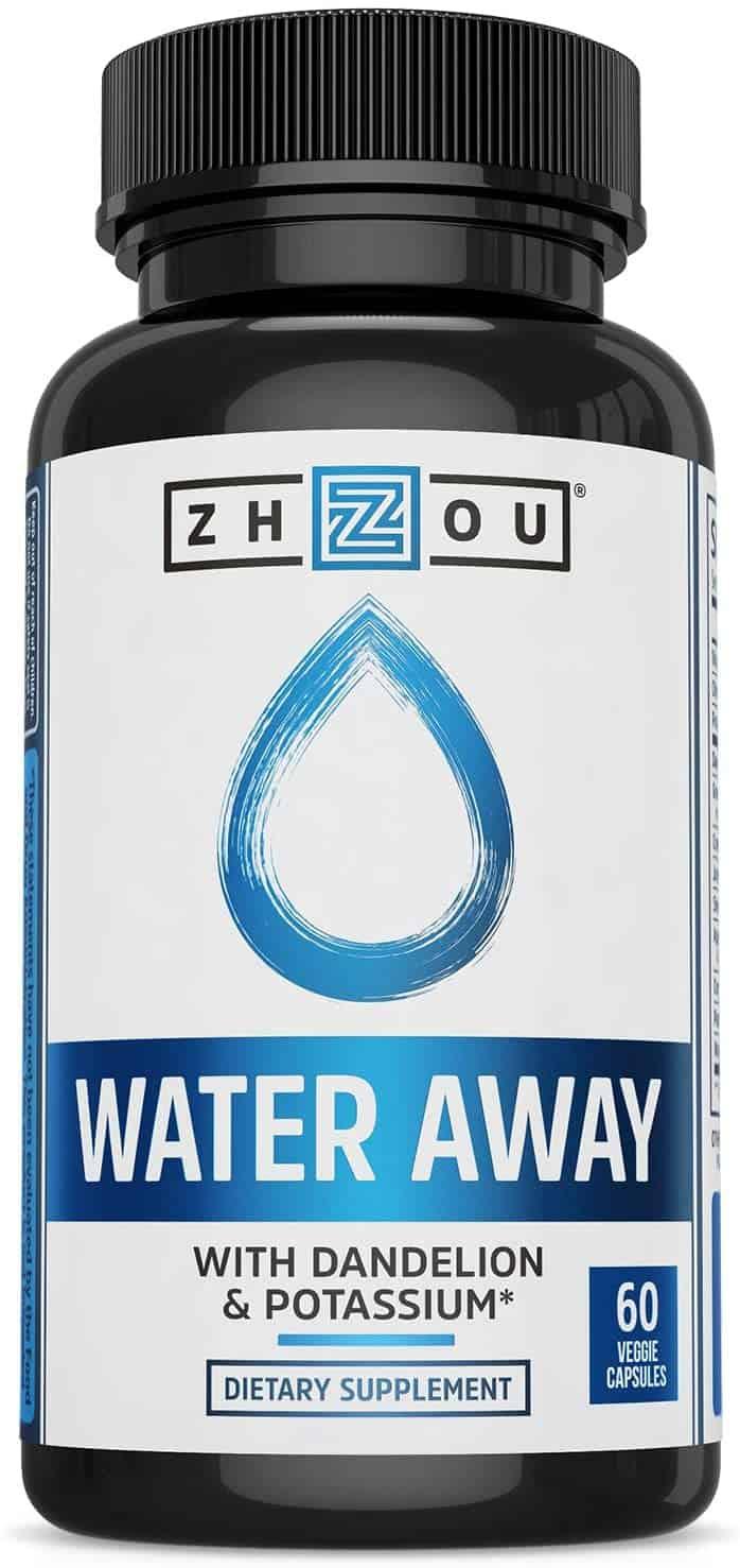 Zhou Nutrition Water Away (60 Servings)